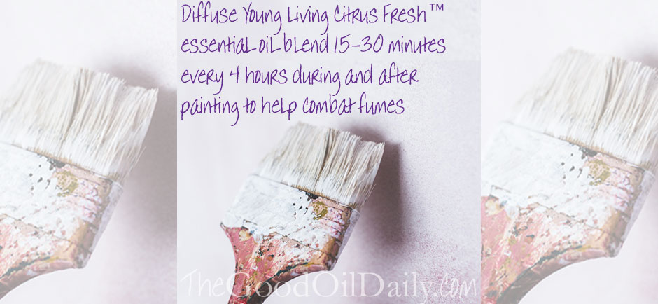 Essential Oils And Paint Fumes