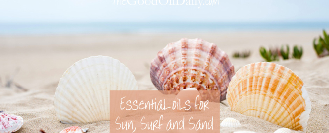essential oils sun surf beach, young living, the good oil daily