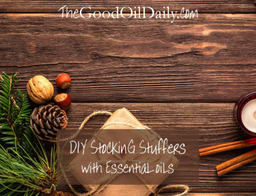 DIY Stocking Stuffer Gifts with Essential Oils