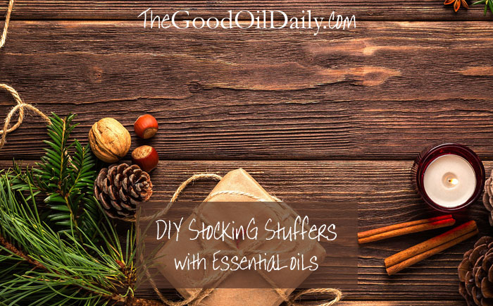 diy gift stocking stuffer, essential oils, the good oil daily, young living