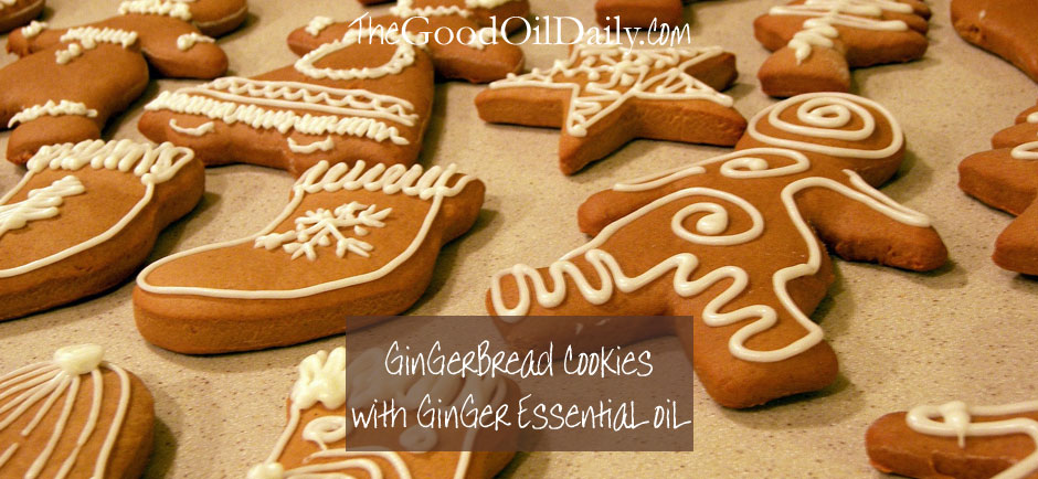 gingerbread men, essential oils, the good oil daily