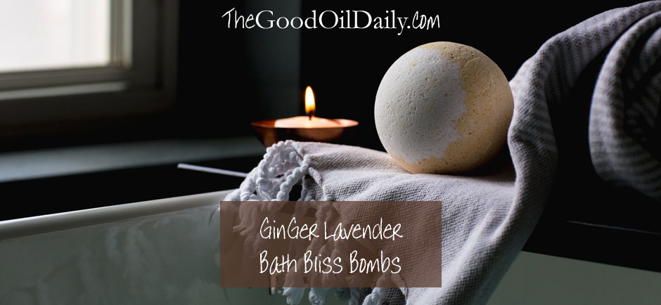 bath bomb essential oils, the good oil daily