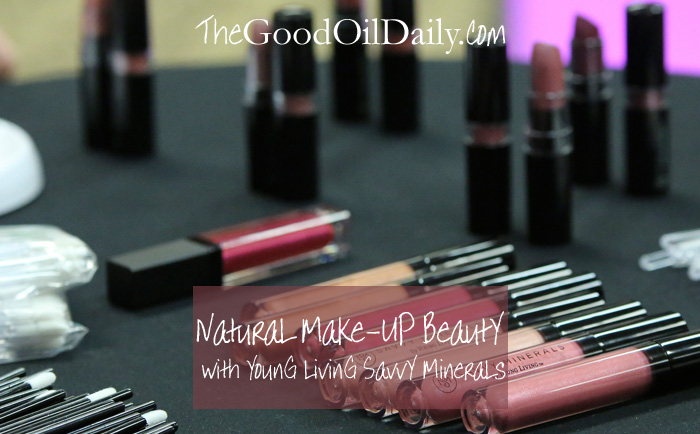 young living savvy minerals, natural make-up, the good oil daily